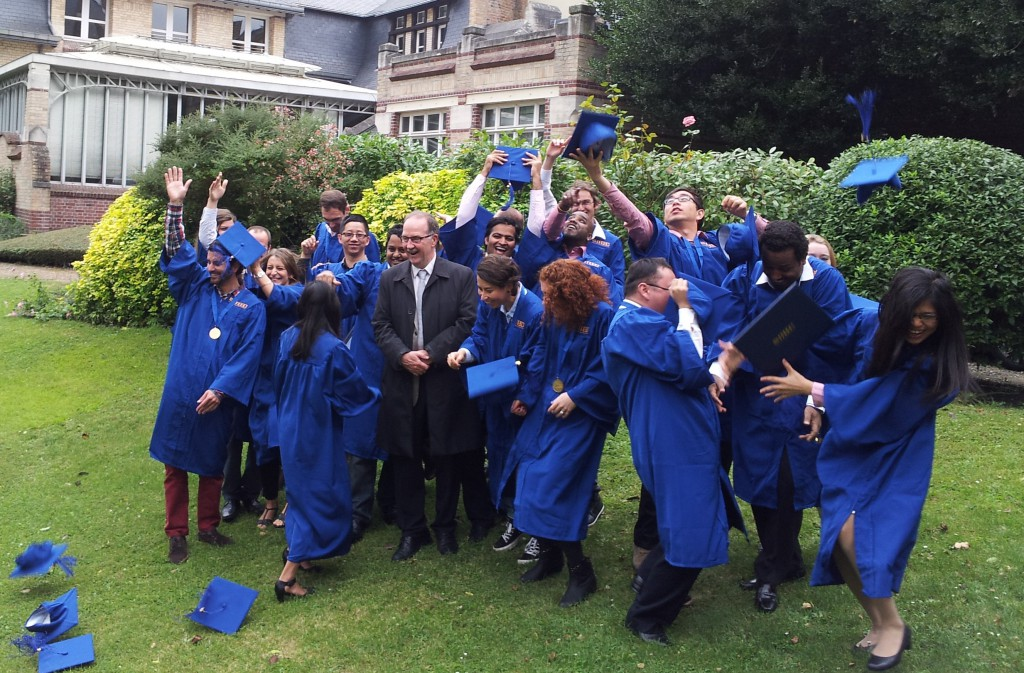 The MESC-8 Graduating Class.