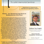 Tis Lahiri Seminar and Visit to Vanderbilt