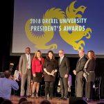 Danielle Kopicko receives President's Award