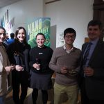Opening reception for NanoArtography exhibit