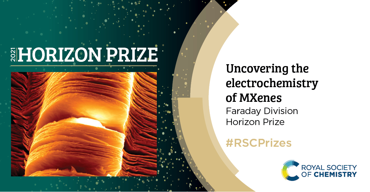 Congratulations to Professor Yury Gogotsi and His Team for Winning the Horizon Prize from the Royal Society of Chemistry