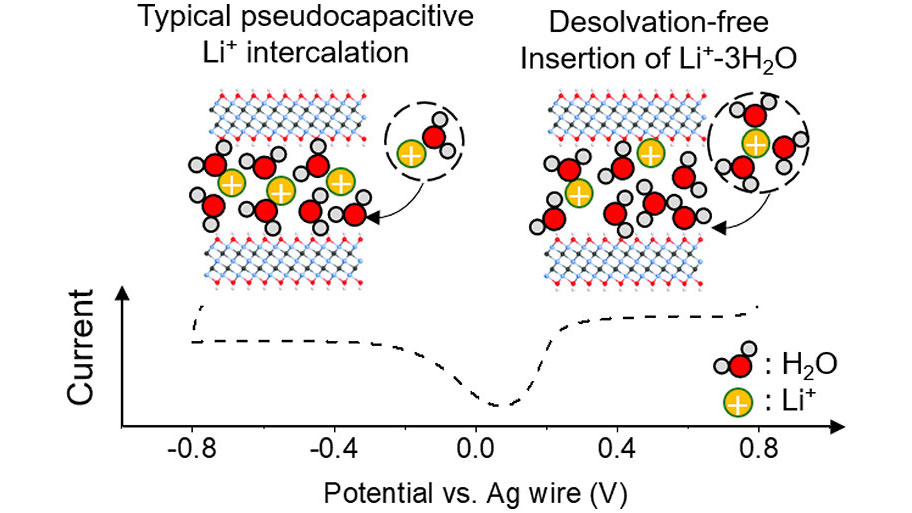 Our recent article in ACS Nano: Titanium Carbide MXene Shows an Electrochemical Anomaly in Water-in-Salt Electrolytes