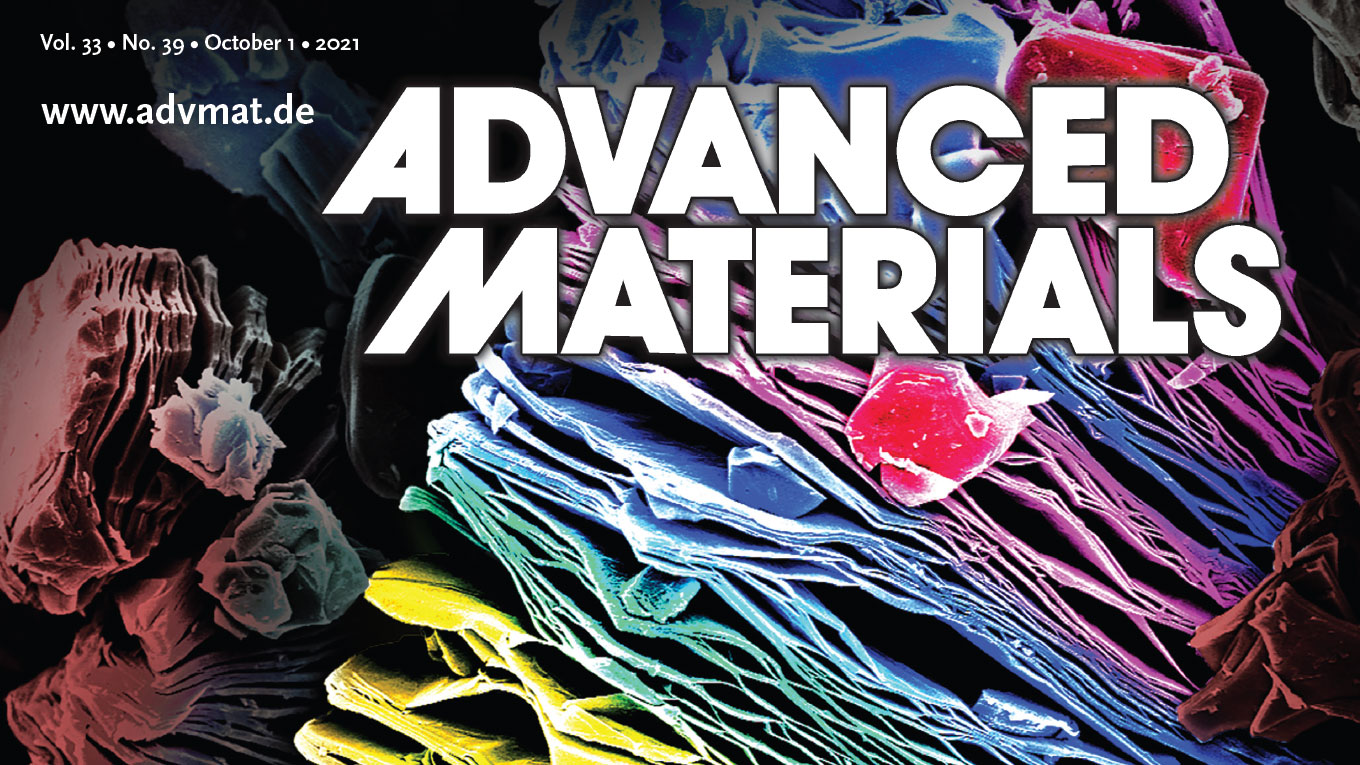 Our 10-year Perspective Article on MXenes is Featured on the Front Cover of Advanced Materials